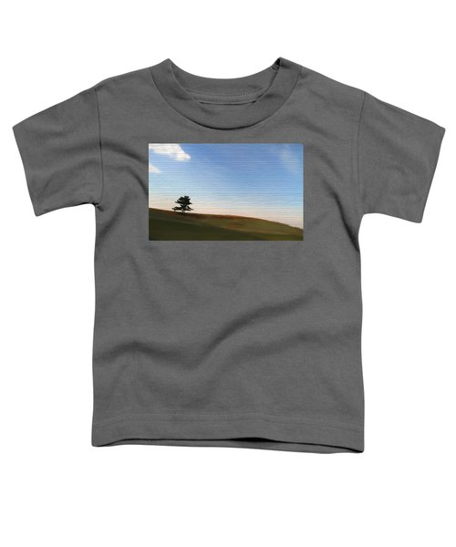 Country Landscape Minimalism Toddler T-Shirt