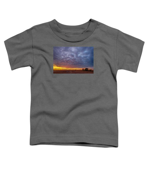 Toddler T-Shirt featuring the photograph Country Living by Sebastian Musial