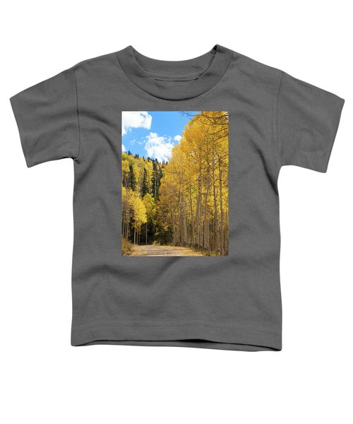 Toddler T-Shirt featuring the photograph Country Roads by David Chandler