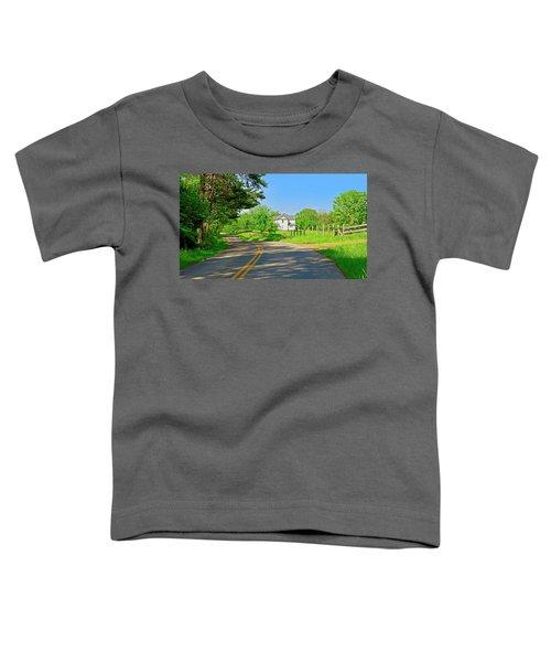 Country Roads Of America, Smith Mountain Lake, Va. Toddler T-Shirt
