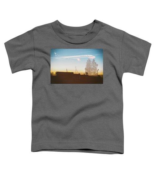 Countryside Boeing Toddler T-Shirt