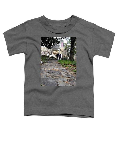 Couple On A Garden Path Toddler T-Shirt