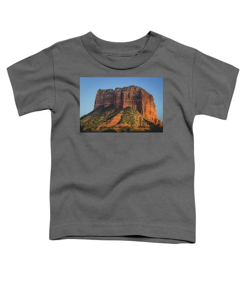 Courthouse Butte At Sunset Toddler T-Shirt