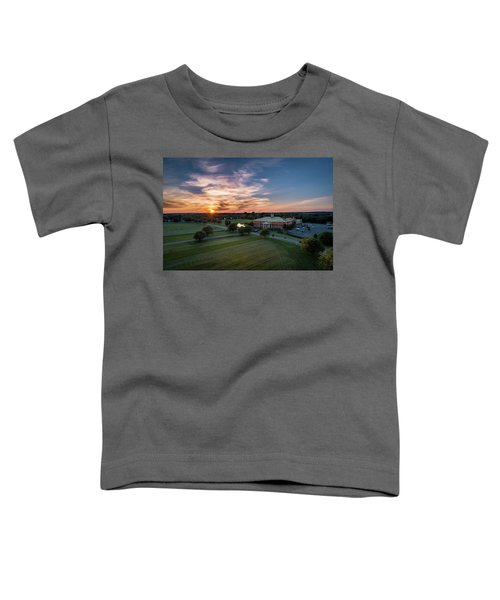 Courthouse Sunset Toddler T-Shirt