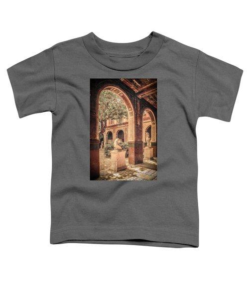Paris, France - Courtyard West - L'ecole Des Beaux-arts Toddler T-Shirt