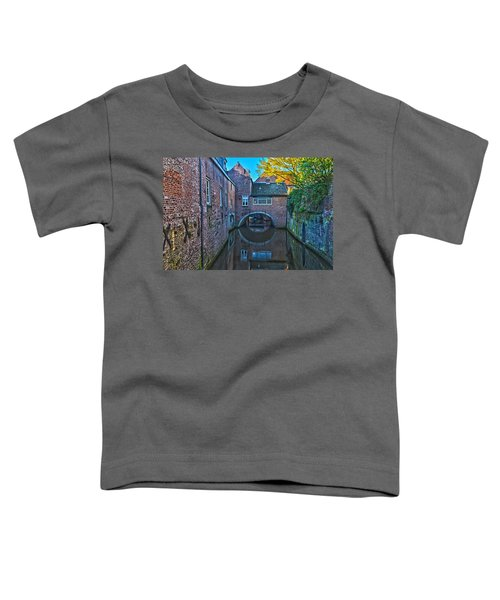 Covered Canal In Den Bosch Toddler T-Shirt