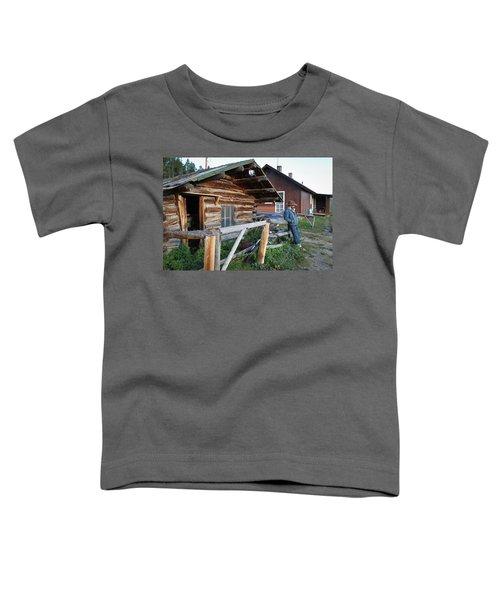 Cowboy Cabin Toddler T-Shirt