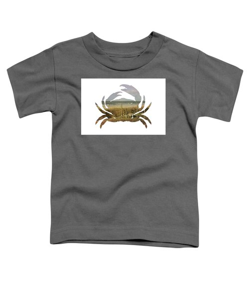 Crab Beach Toddler T-Shirt