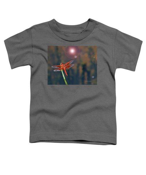 Crackerjack Dragonfly Toddler T-Shirt