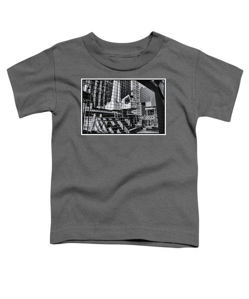 Crane In Manhattan Toddler T-Shirt