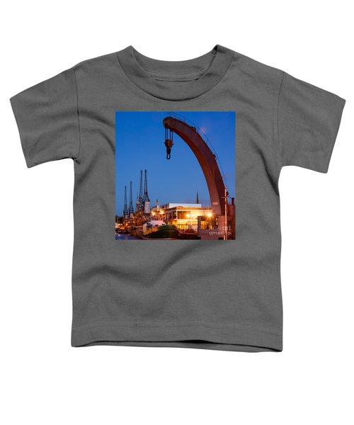 Cranes, Bristol Harbour Toddler T-Shirt