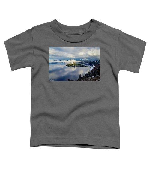 Crater Lake Storm Toddler T-Shirt