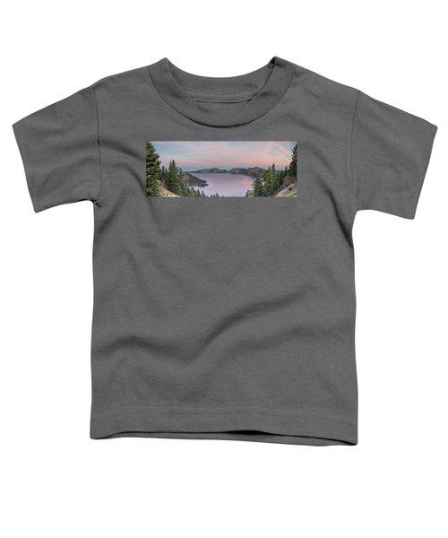 Crater Lake Sunset Toddler T-Shirt