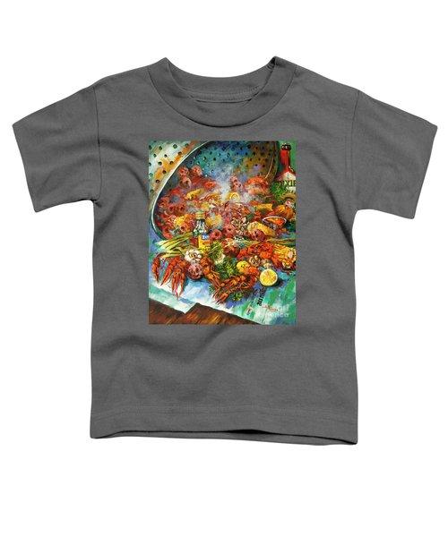 Crawfish Time Toddler T-Shirt