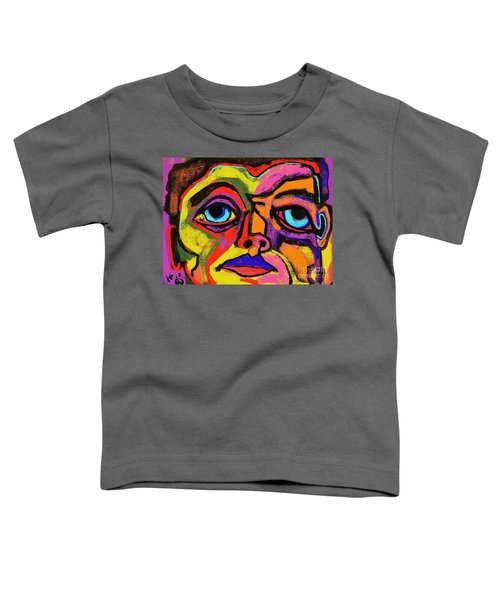Crayon Bob Toddler T-Shirt