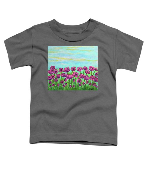 Crazy For Cosmos Toddler T-Shirt