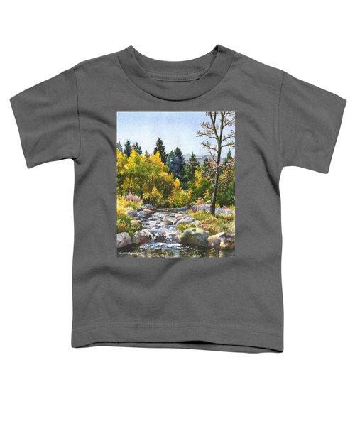 Creek At Caribou Ranch Toddler T-Shirt
