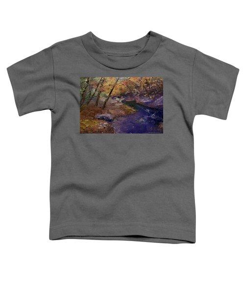 Creek Bank Toddler T-Shirt