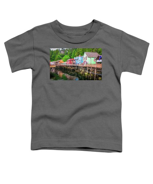 Creek Street Ketchikan Alaska Toddler T-Shirt