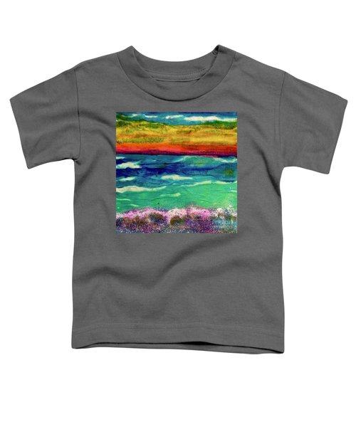 Crepe Paper Sunset Toddler T-Shirt