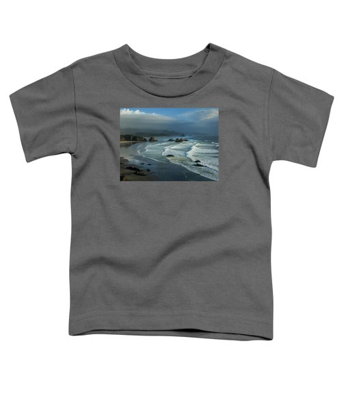 Crescent Beach And Surf Toddler T-Shirt