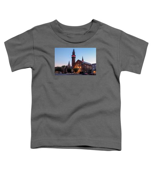 Crescent Moon Old Town Hall Toddler T-Shirt