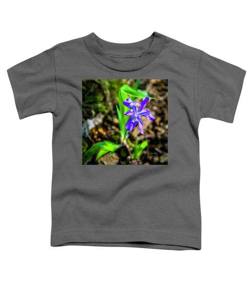 Crested Dwarf Iris Toddler T-Shirt