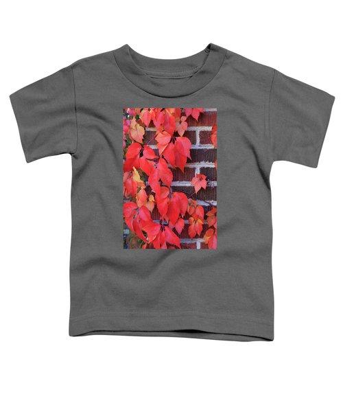 Crimson Leaves Toddler T-Shirt