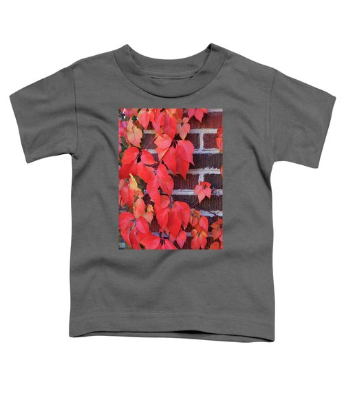 Crimson Leaves Toddler T-Shirt