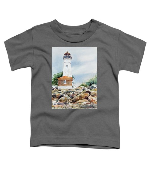 Crisp Lighthouse Toddler T-Shirt