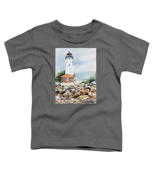 Crisp Lighthouse Toddler T-Shirt
