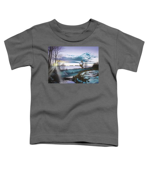 Crisp Winter Light Toddler T-Shirt