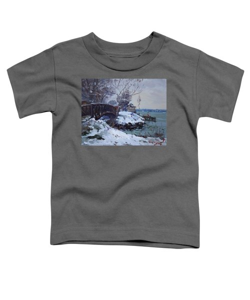 Cristmas Eve In Niawanda Park Toddler T-Shirt