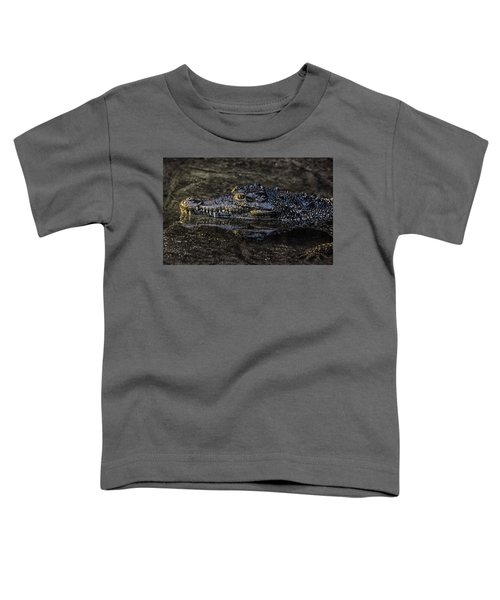 Crocodile Reflections Toddler T-Shirt