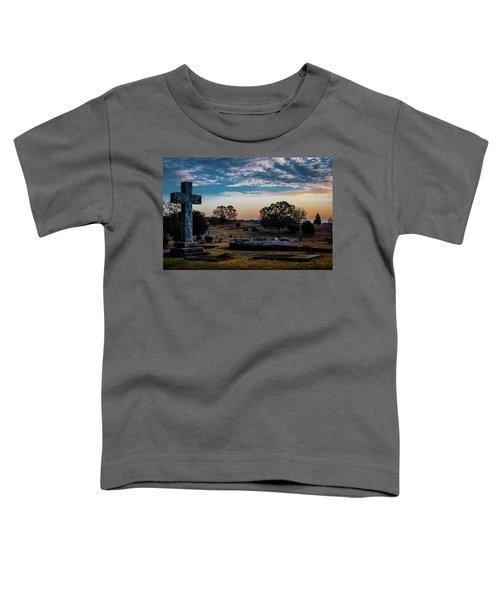 Cross At Sunset Toddler T-Shirt