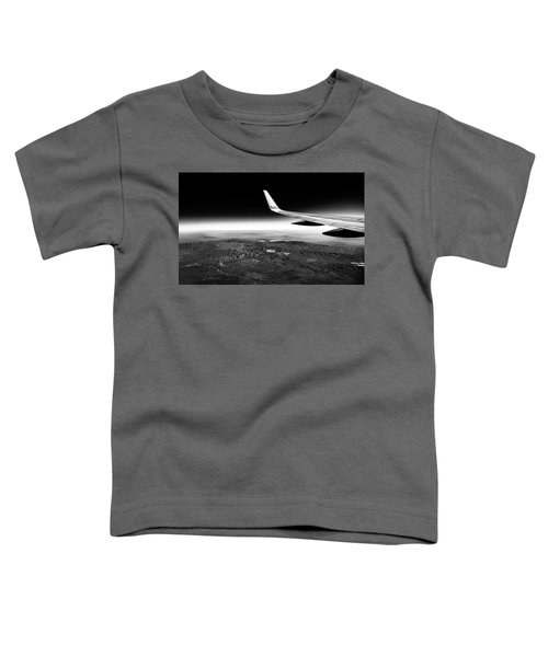 Cross Country Via Outer Space Toddler T-Shirt