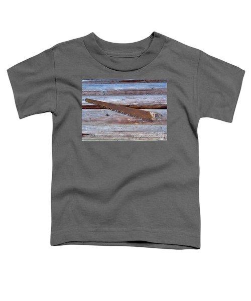 Crosscut Saw Toddler T-Shirt