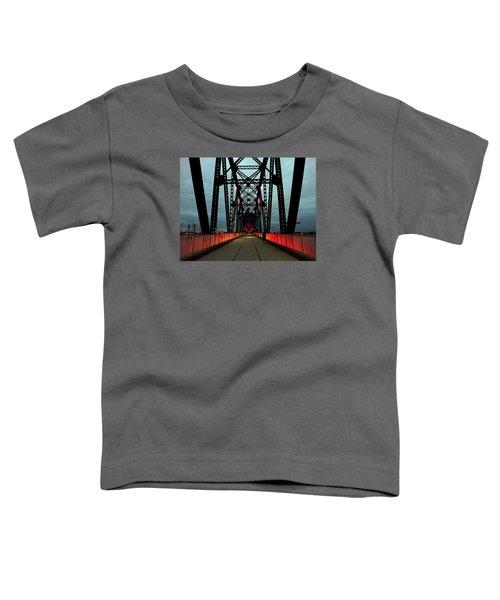 Crossing The Bridge Toddler T-Shirt