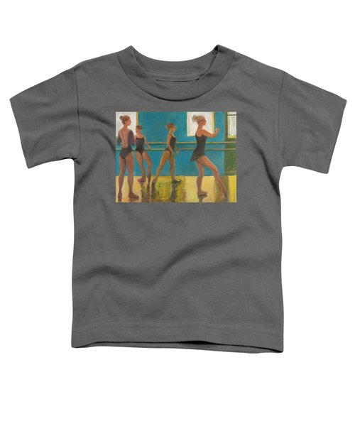 Crossing The Floor Toddler T-Shirt