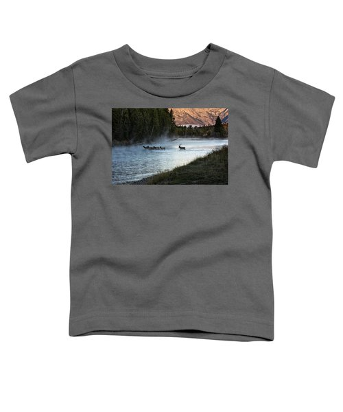 Crossing The River Toddler T-Shirt