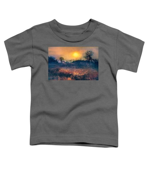 Crossing Through The Meadows Toddler T-Shirt