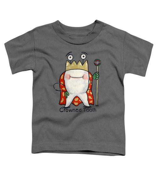 Crowned Tooth T-shirt Anthony Falbo Toddler T-Shirt