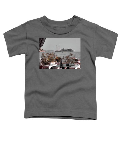 Cruising Past And Present Toddler T-Shirt