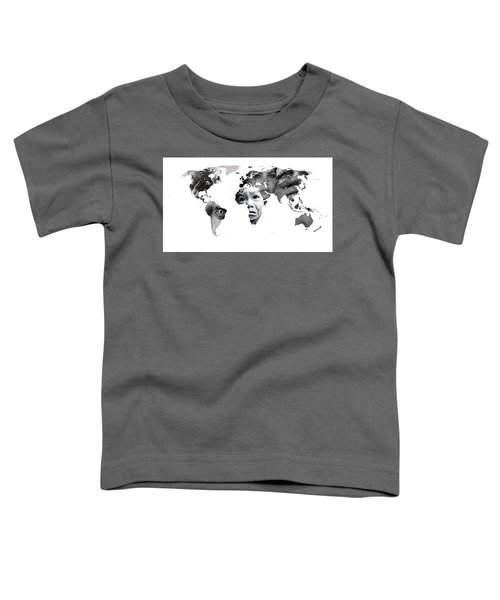 Crying Earth Toddler T-Shirt