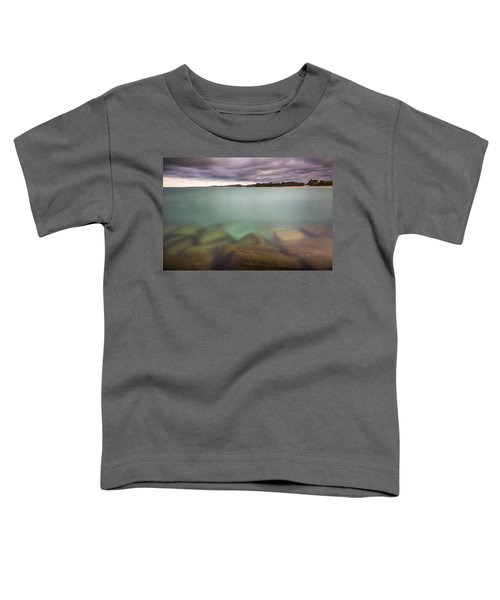 Toddler T-Shirt featuring the photograph Crystal Clear Lake Michigan Waters by Adam Romanowicz