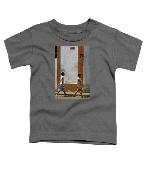 Cuba Calle In Havana Cuba Toddler T-Shirt