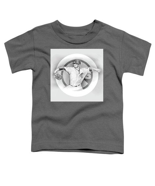 Cubs 2016 Toddler T-Shirt by Greg Joens