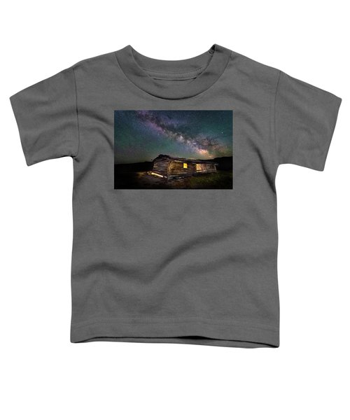 Cunningham Cabin After Dark Toddler T-Shirt