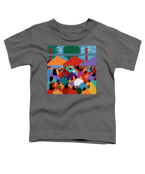 Curacao Market Toddler T-Shirt