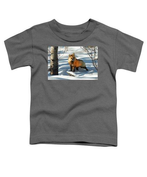Curious Fox Toddler T-Shirt